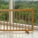 Cardinal SGO Step Over Pet Gate - Oak
