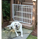 Cardinal SS-30OD/W Stairway Special Outdoor Pet Gate - White