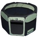 Pet Gear TL4136SG Travel Lite Soft-Sided Pet Pen - Medium/Sage
