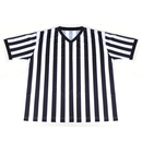 GOGO TEAM Referee Shirt, Polyester V-Neck Jersey, Referee Uniform Costume