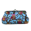 Aspire 12-Pack Cute Owl Hasp Coin Purse Wallet, Double Coin Purse for Kids