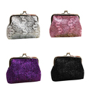 Aspire 12PCS Lace Buckle Coin Purse, Chic Jewelry Packing Pouch