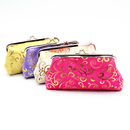 Aspire 6 Pieces Vintage Satin Clutch / Cosmetic Bags with Clasp, Gift Idea, 7