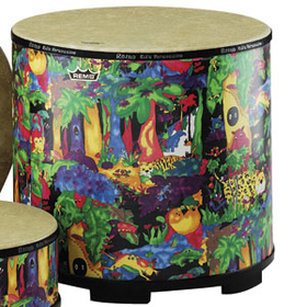 Remo KD582201 Kids Gathering Drum (7.5 X 22)
