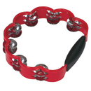 Rhythm Band Instruments PK80 Peacock Tambourine Red