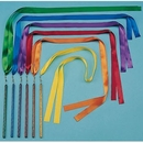"Rhythm Band Instruments RB3001 Set of 6 36"" Ribbon Wands"
