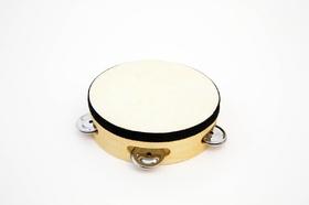 "RB525X 6"" Wood Rim Tambourine"