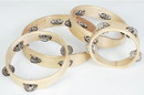 "Rhythm Band Instruments RB526NH 8"" RBI Headless Wood Rim Tambourine - 5 (pr) Jingles. (single row jingles)"