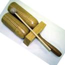 Rhythm Band Instruments RB702W Wood Agogo W/Mallet