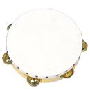"Rhythm Band Instruments RB926 8"" Tambourine- Plastic Rim"