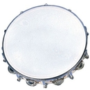 "Rhythm Band Instruments RB930DJ 10"" Tambourine- 18 Jingles Tuneable"