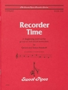 Rhythm Band Instruments SP2308 Recorder Time, Book 1