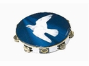 "Rhythm Band Instruments TA9106-18 6"" Dove Tambourine 6 (pr) Jingle"