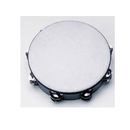 "Rhythm Band Instruments TAM10D 10"" Double Jingle Poly Head Tambourine - 16 (pr) Jingles"