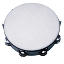 "Rhythm Band Instruments TAM8D 8"" Double Jingle Poly Head Tambourine - 16 (pr) Jingles"