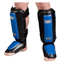 Combat Sports Gel Shock Shin Guard - Black/Blue