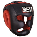 Combat Sports Fight Gear Full Face Training Headgear - Black