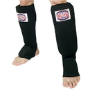 Combat Sports Slip-On Shin Guard - Black
