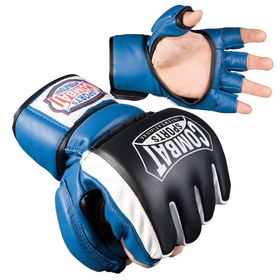 Combat Sports Extreme Safety MMA Training Glove - Blue, Price/1 PAIR