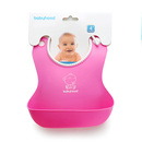 GOGO Best Silicone Soft Bibs For Babies Boys & Girls, Save Time & Money With Less Laundry, 1Pc