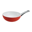 Berndes 79609 Milestone Pearl Wok, Red Apple, Limited Edition