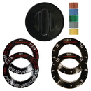Range Kleen 8111 Knob Electric Black, Sgl Pk