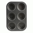 (12 Pcs @ $5.53 Pcs) Range Kleen B13M6 Muffin Pan Non-stick 6 Cup