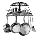 Range Kleen CW6002R Pot Rack Double Shelf Black Enamel