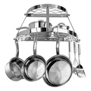 Range Kleen CW6004R Pot Rack Double Shelf Stainless Steel