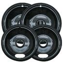 (3 Pcs @ $18.22 Pcs) Range Kleen P10124XN Drip Bowl Porcelain/Black 2 Sm/6