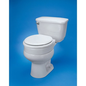 Ableware 725711000 Hinged Elevated Toilet Seat Regular by Maddak
