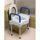 Ableware 725881000 Extra Wide Tall-Ette Elevated Toilet Seat with Legs