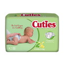 Cuties CR2001 Size 2 Baby Diapers 168/Case