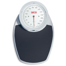 Seca 750 White Mechanical Floor Scale-Reads-Pounds Only (7501119004)