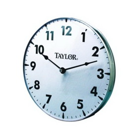 Taylor 161 18 Inch Metal Patio Clock