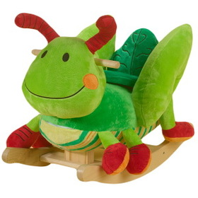 Rockabye 85039 Gregory Grasshopper Rocker