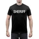 Rothco 6618 2-Sided Sheriff T-Shirt