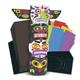 Roylco R4202 Totem Pole Craft Kit
