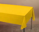 Creative Converting 011012 School Bus Yellow Plastic Tablecover 54 X 108 Solid (Case of 12)