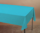 Creative Converting 011390 Bermuda Blue Plastic Tablecover 54 X 108 Solid (Case of 12)