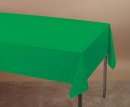 Creative Converting 01191 Emerald Green Plastic Tablecover 54 X 108 Solid (Case of 12)