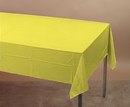 Creative Converting 01252 Mimosa Plastic Tablecover 54 X 108 Solid (Case of 12)
