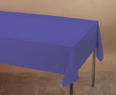 Creative Converting 01287 Purple Plastic Tablecover 54 X 108 Solid (Case of 12)