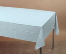 Creative Converting 013025 Pastel Blue Plastic Tablecover 54 X 108 Solid (Case of 12)