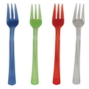 Creative Converting 013440 Assorted Translucent TrendWare Mini Forks (Case of 144)