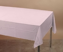 Creative Converting 014016 Classic Pink Plastic Tablecover 54 X 108 Solid (Case of 12)