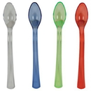 Creative Converting 019440 Assorted Translucent TrendWare Mini Spoons (Case of 144)