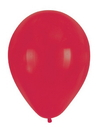 "Creative Converting 041319 Classic Red 12"" Latex Balloons (Case of 180)"