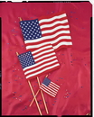 Creative Converting 04263B Cloth Flag, 4