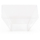 Creative Converting 050432 Clear TrendWare Small Square Bowl (Case of 96)
